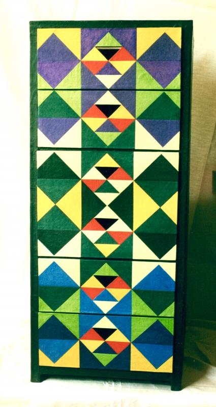 Schubladenschrank. 75x40x35cm