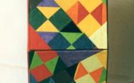 Schubladenschränkchen für Schmuck. 45x12x5cm