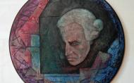 Immanuel Kant/칸트 59x59cm 2013
