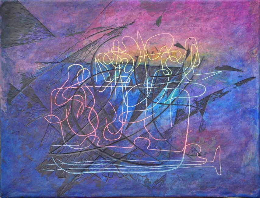 OT/Untitled/무제 55x72cm 2010 Verkauft/sold(Myong-Suk Park)