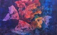 OT/Untitled/무제 55x55cm 2010 Verkauft/sold(Ju-Hyun Ha)